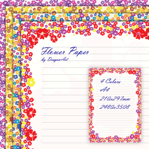 Printable Decorative Writing Paper