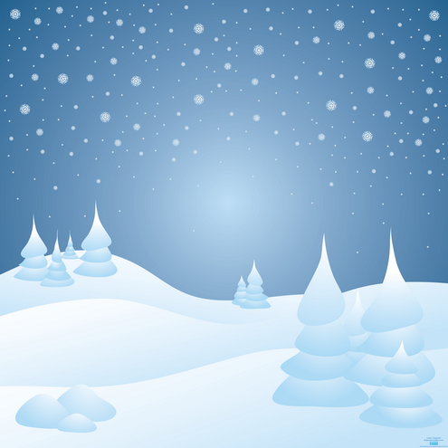 christmas snow wallpaper. Snow Background and E-Card
