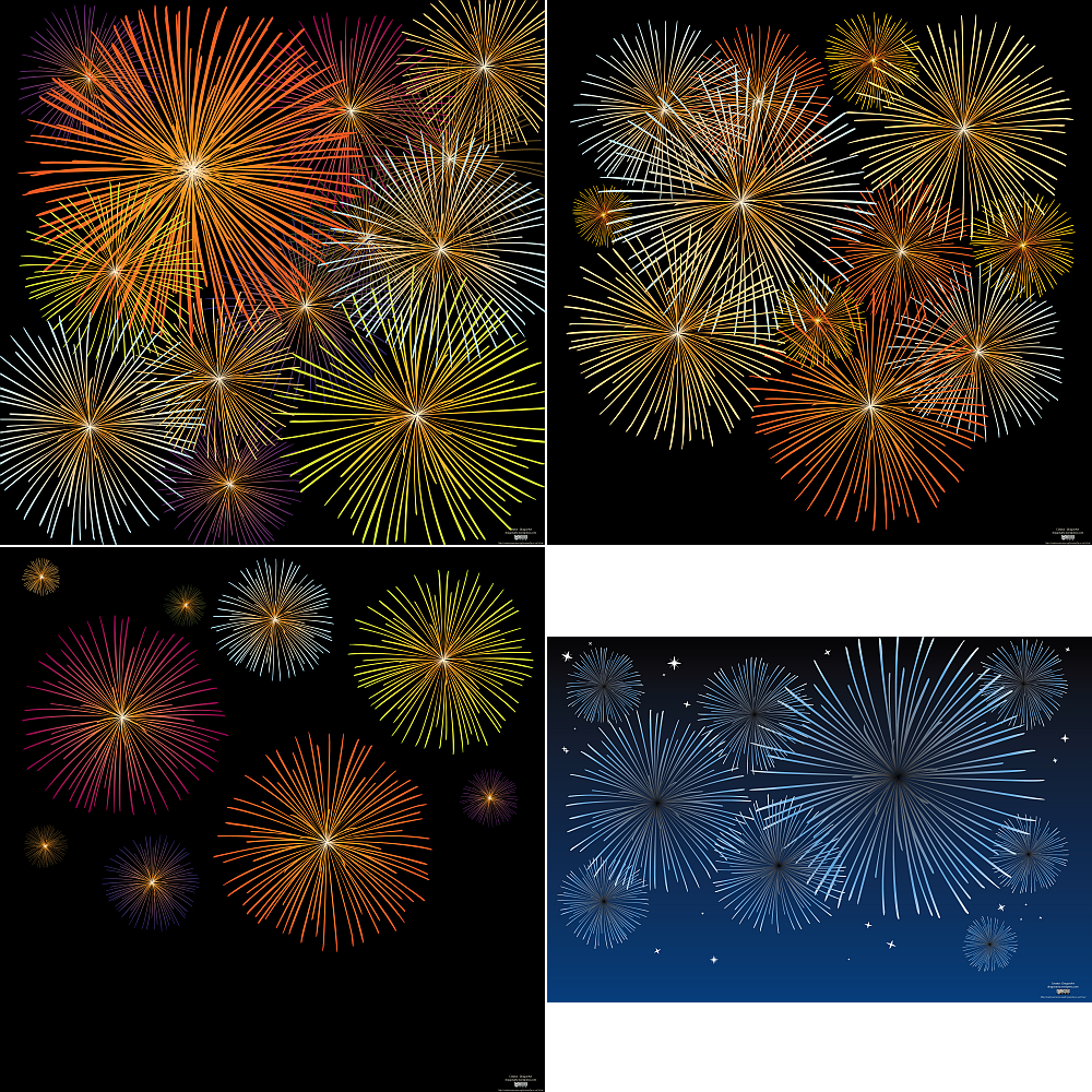 Fireworks Vector | DragonArtz Designs (we moved to ...