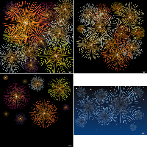 _vector-fireworks-preview-by-dragonart