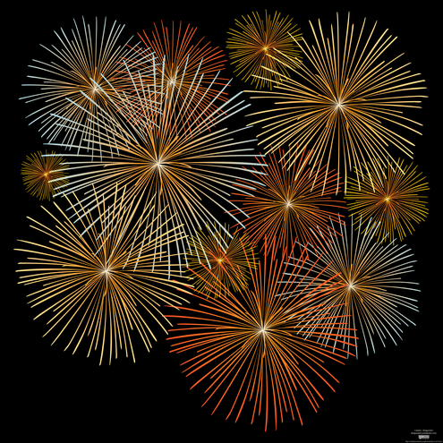 fireworks vector dragonartz designs  we moved to Free Clip Art Fireworks Celebration 4th of July Clip Art