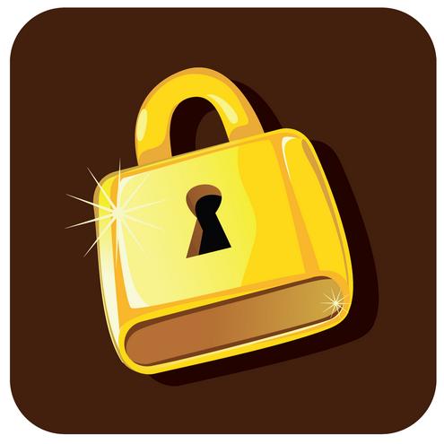 _vector-golden-lock-preview2-by-dragonart