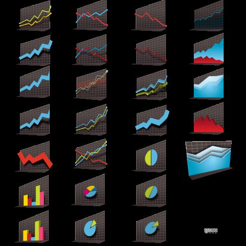 vector-stock-market-graphs-3d-by-dragonart
