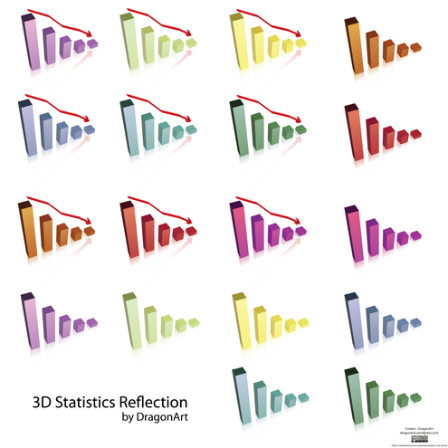_vector-3d-statistics-reflection-preview-by-dragonart