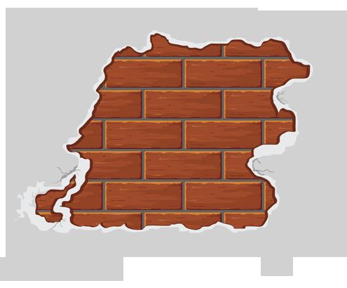 Plaster for bathroom walls