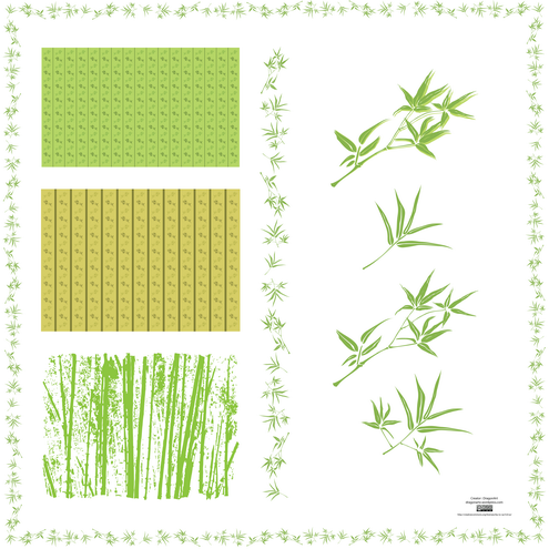 leaf wallpaper. Bamboo leaves wallpaper and