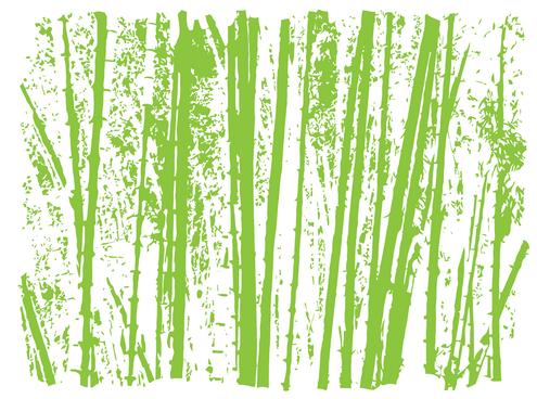 Single Bamboo Leaves Bamboo