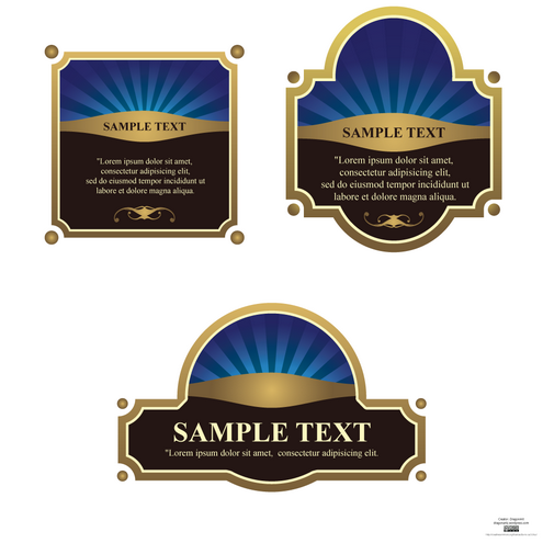 _vector-classic-labels-preview2-by-dragonart