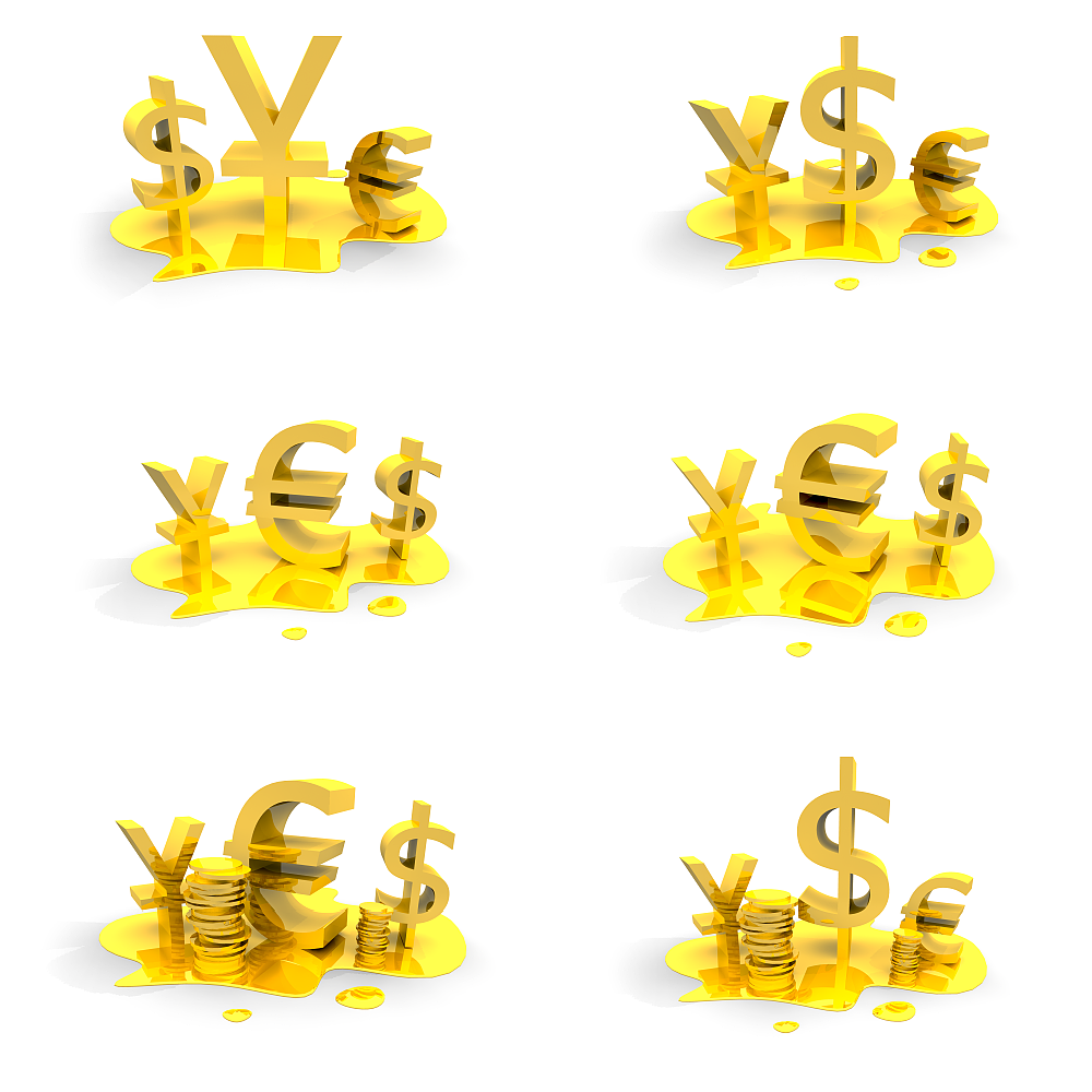 3d Golden Money Symbols Graphics Dragonartz Designs We Moved To