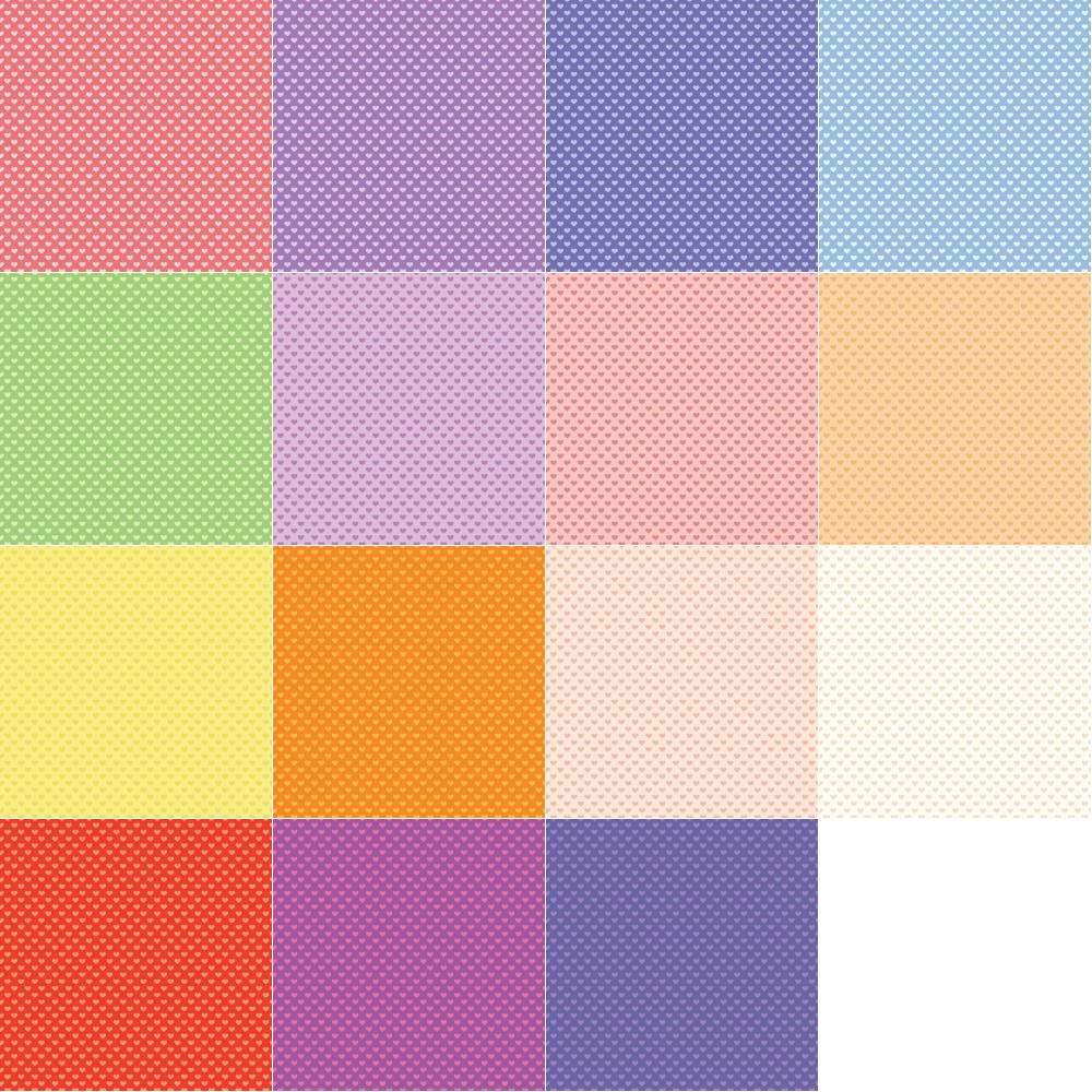 Heart Pattern Backgrounds Vector | DragonArtz Designs (we