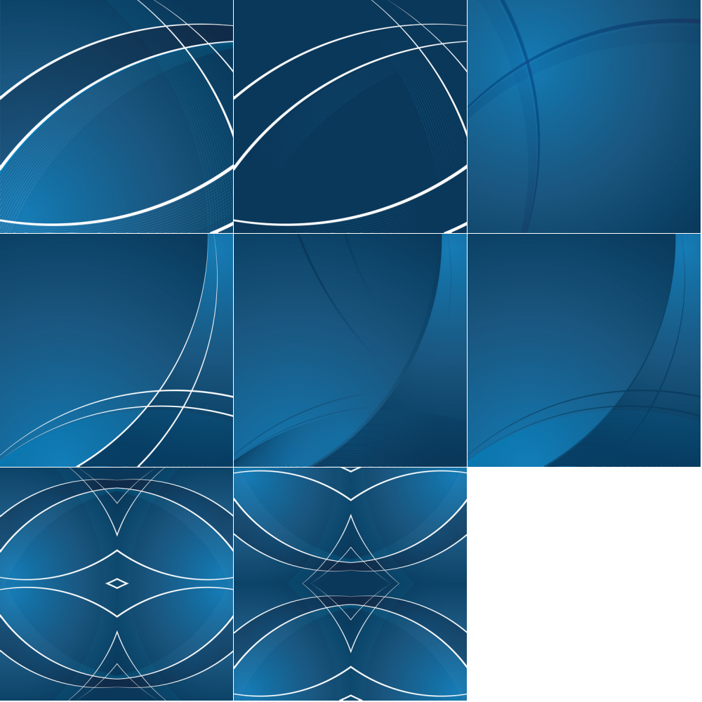 Abstract Wave Pattern Curves Background Vector ...