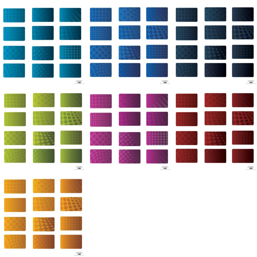 Kartvizit Serisi (Farkl� renklerde seri halde)