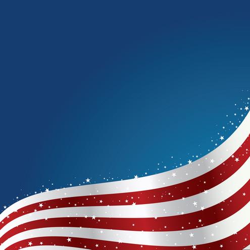 United States Flag Background Vector | DragonArtz Designs ...