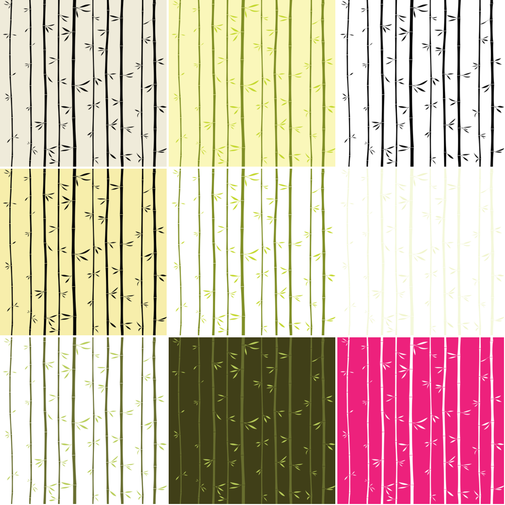 Bamboo Seamless Background Vector