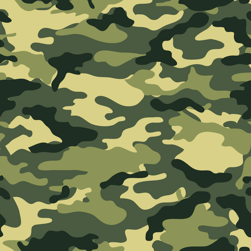 Seamless background camouflage in 9 different colors. Desert ...