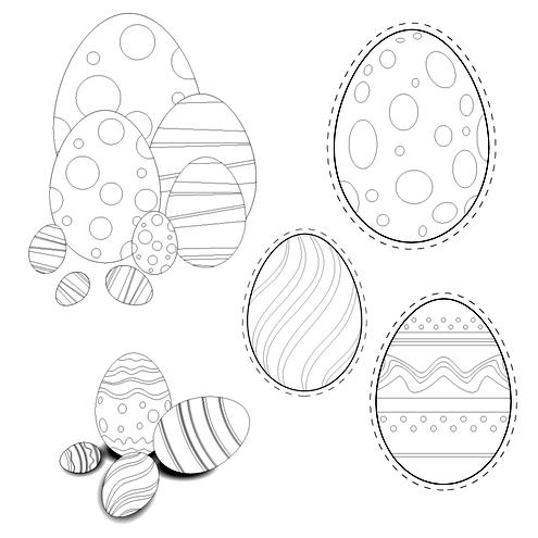 صور تلوين البيض