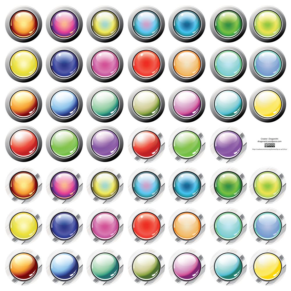 Free Vector Buttons