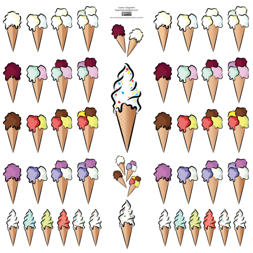 _vector-ice-cream-cones-cs-by-dragonart