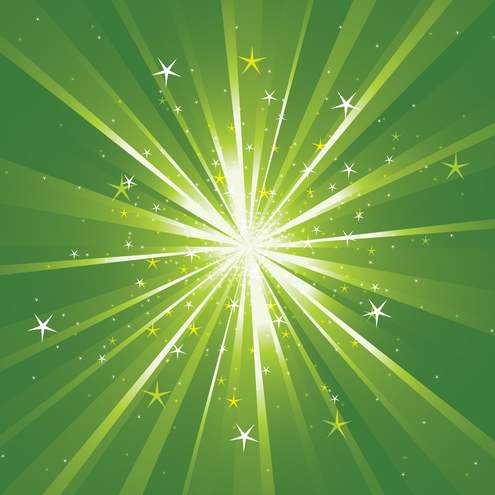 _vector-light-rays-with-sparkles-preview-by-dragonart