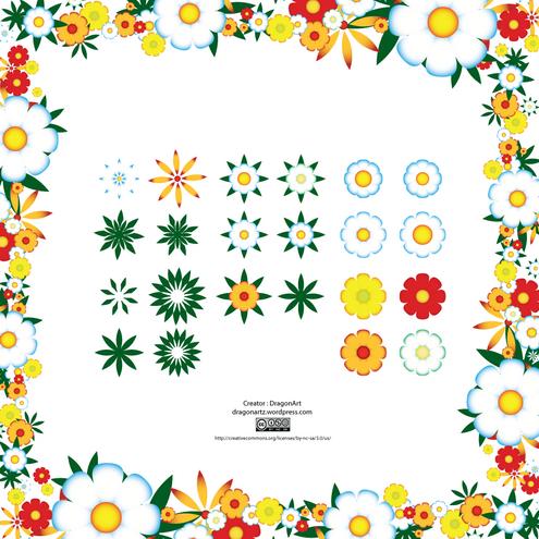 http://dragonartz.wordpress.com/2009/04/29/spring-flowers-vector/