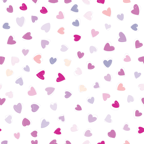 pink hearts wallpaper background