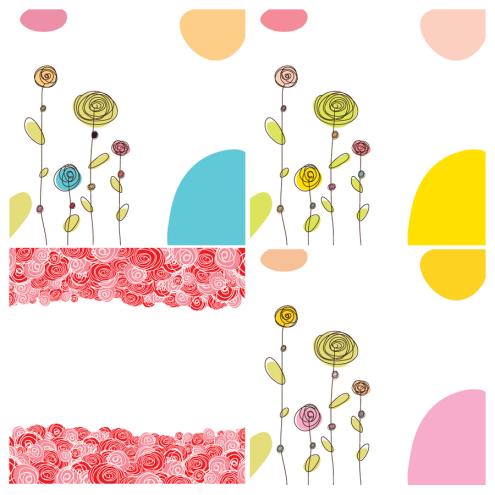 _vector-scribble-flower-cards-cs1-by-dragonart