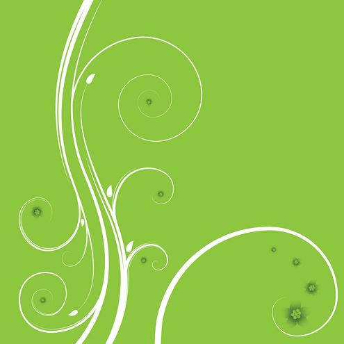 Vector - Abstract Floral Background 05 by DragonArt