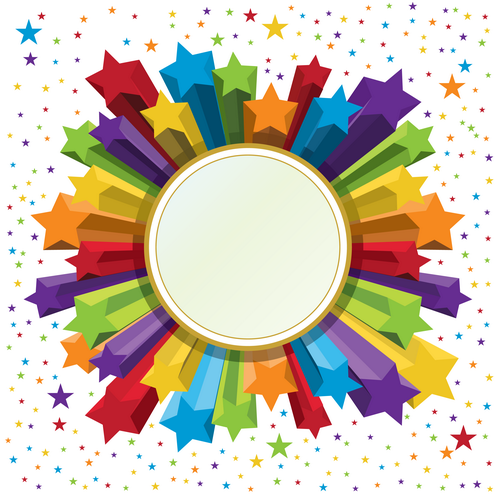 picture frame. _Vector - Celebration Frame