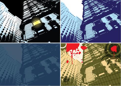 _Vector - Messy Building CS by DragonArt