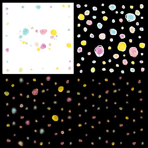 _Vector - Scribble Flower Pattern CS by DragonArt