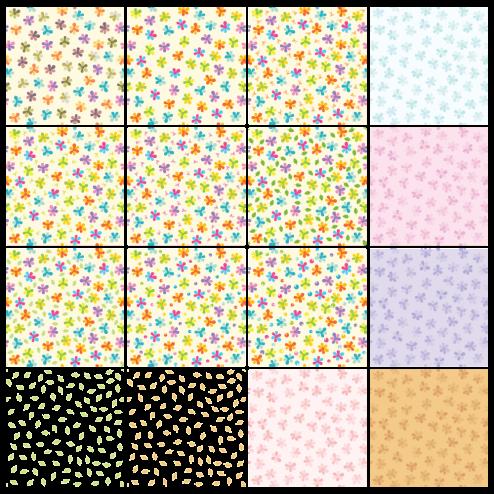 _Vector - Summer Flower Seamless Pattern CS by DragonArt