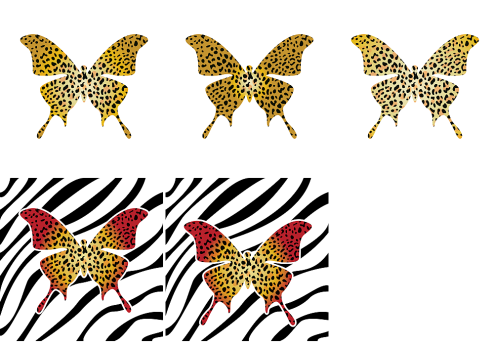 _Vector - Butterfly Leopard CS by DragonArt