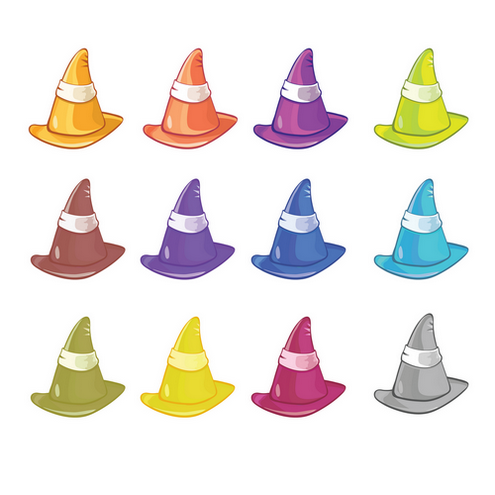 _Vector - Colored Hats CS by DragonArt