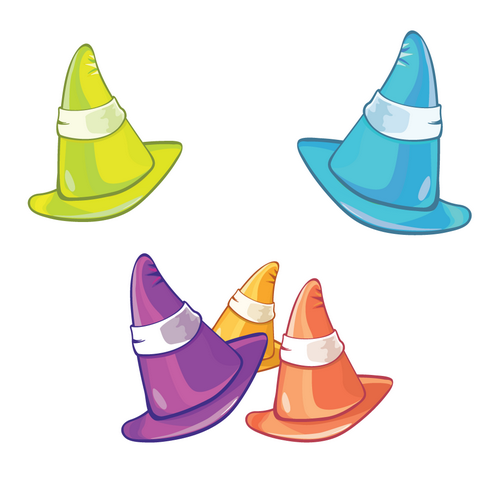 _Vector - Colored Hats PRev by DragonArt