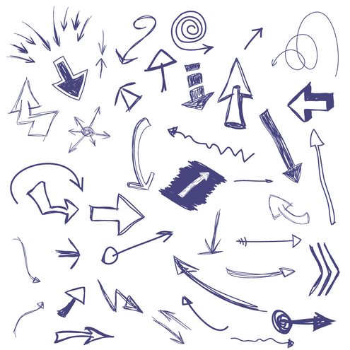 _Vector - Drawn Arrows Prev by DragonArt