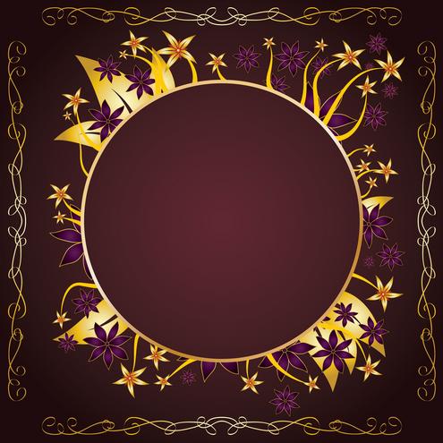 Gold Frame Design Vector | DragonArtz Designs (we moved to ...