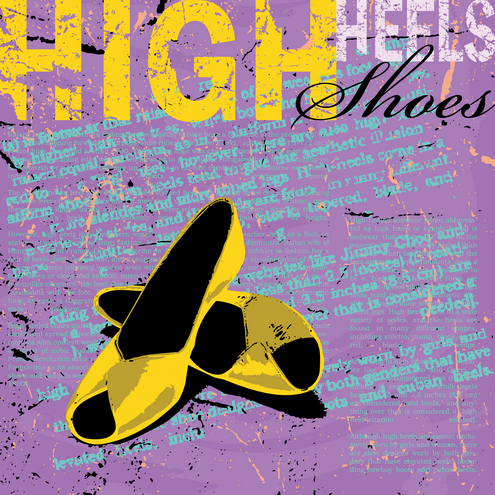 shoe wallpaper. _Vector - High Heels Shoes