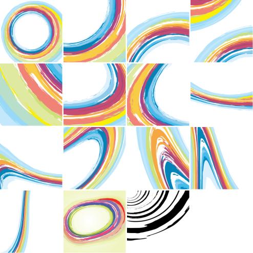 _Vector - Painted Circles CS by DragonArt