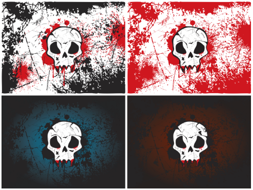 _Vector - Skull Wallpaper CS by DragonArt