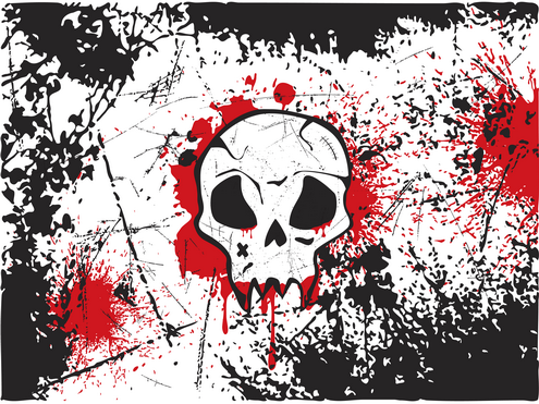 _Vector - Skull Wallpaper Prev2 by DragonArt