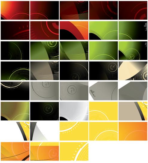 _Vector - Tech Background Card CS by DragonArt