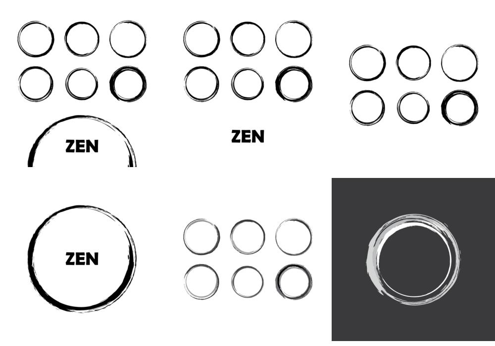 Zen Circles Vector | DragonArtz Designs (we moved to ...