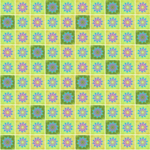 _Graphics - Colorful Flower Pattern prev by DragonArt