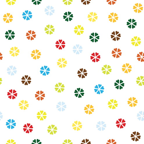 Vector - Abstract Flower Pattern 23 by DragonArt