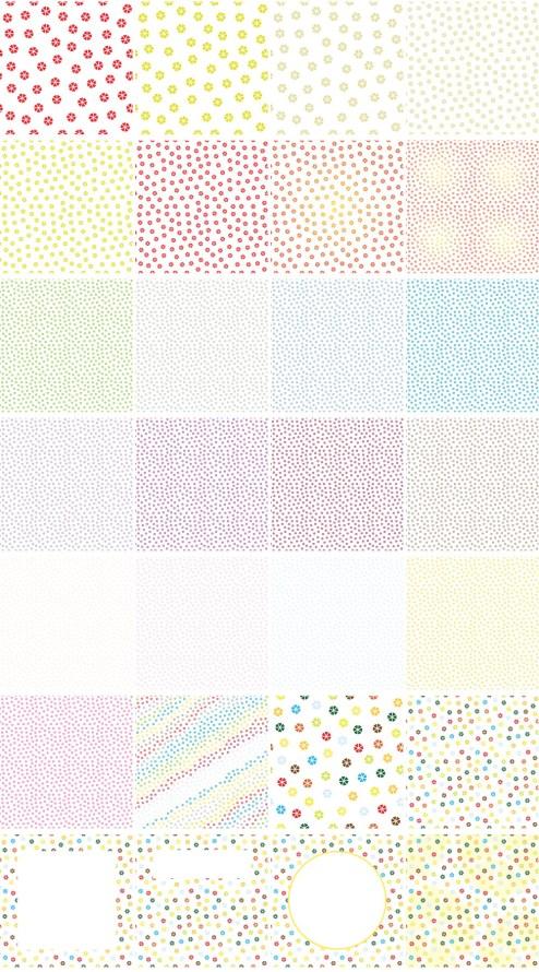 _Vector - Abstract Flower Pattern CS by DragonArt