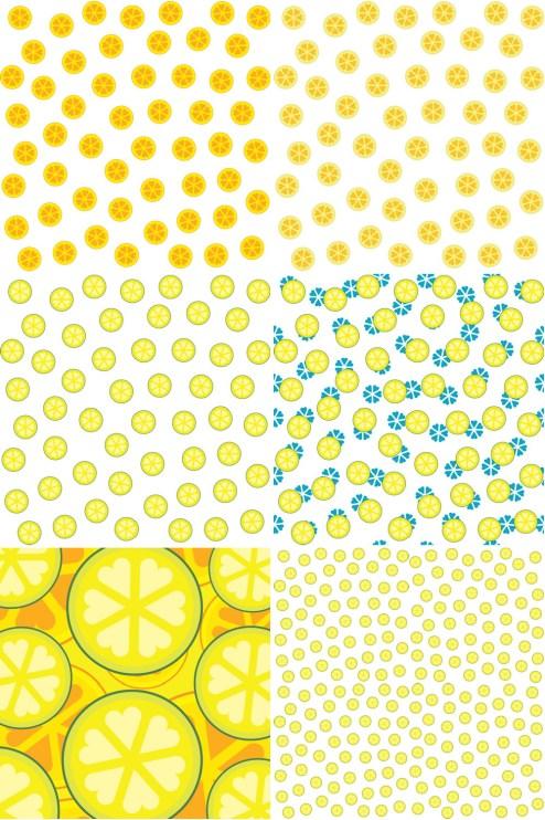 _Vector - Abstract Fruit Slices CS by DragonArt