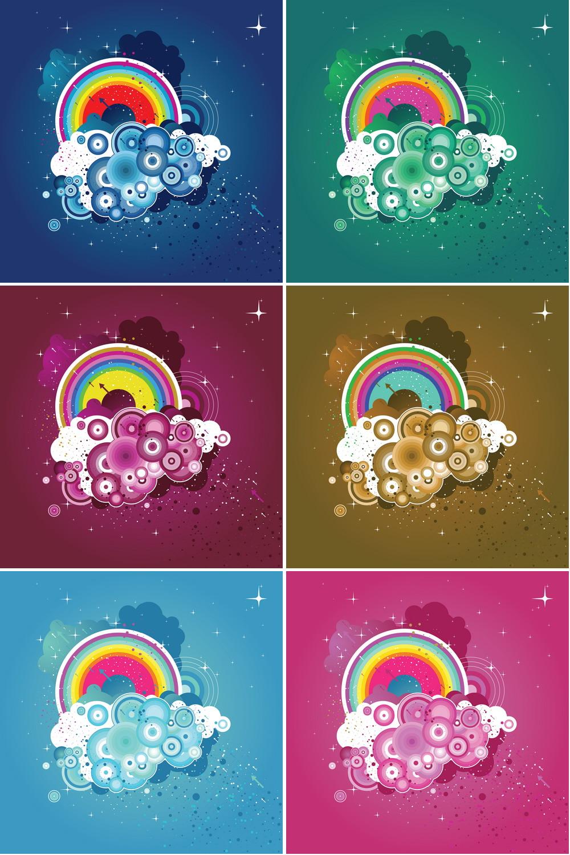 Colorful Abstract Background Vector | DragonArtz Designs ...