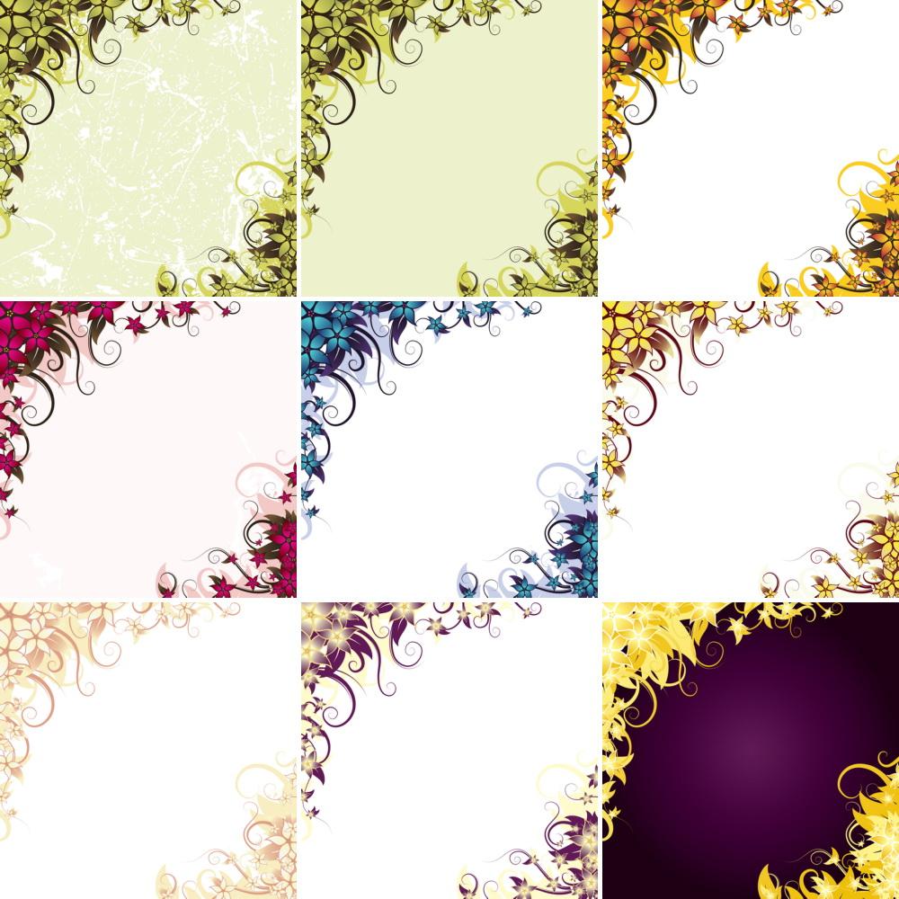 _Vector   Floral Announcement CS By DragonArt