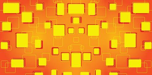 Vector - Retro Tiles Background 05 by DragonArt