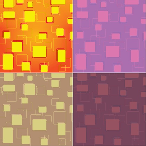 _Vector - Retro Tiles Background CS by DragonArt